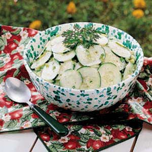 Kansas Cucumber Salad Recipe