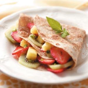 Fruity Dessert Tacos Recipe