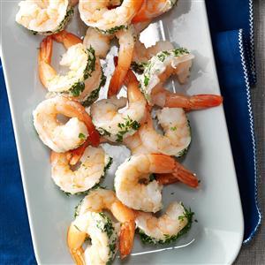 Blue Cheese-Stuffed Shrimp Recipe
