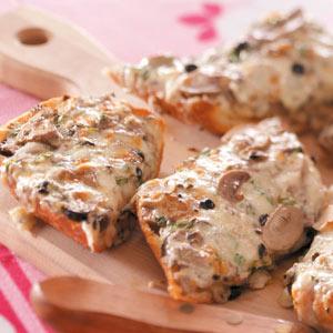 Olive-Onion Cheese Bread Recipe