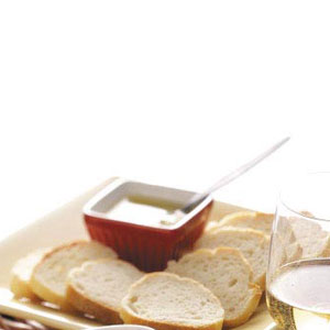 Baguette with Dipping Sauce Recipe