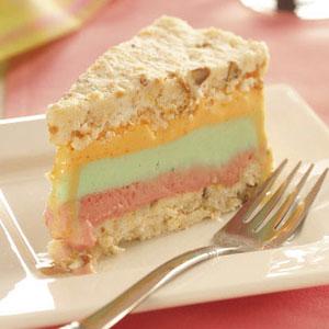 Rainbow Sherbet Dessert Recipe