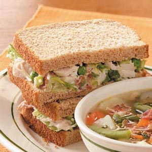 Turkey Salad Sandwiches Recipe