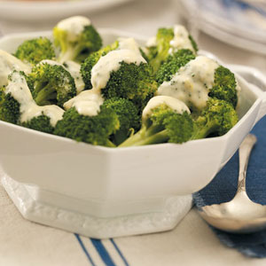 Quick Broccoli with Lemon Sauce Recipe
