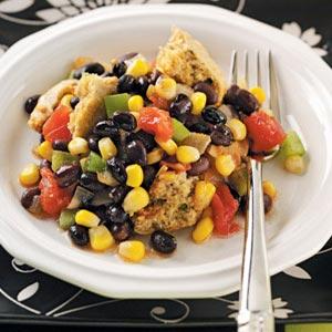 Black Bean Cornmeal Pie Recipe