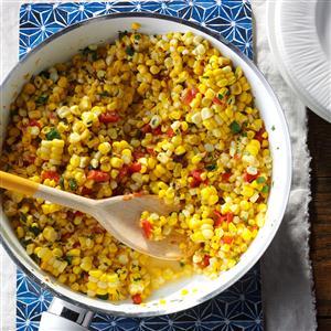 Southwestern Sauteed Corn Recipe