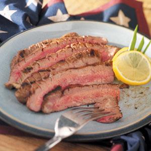 Homemade Marinated Flank Steak Recipe