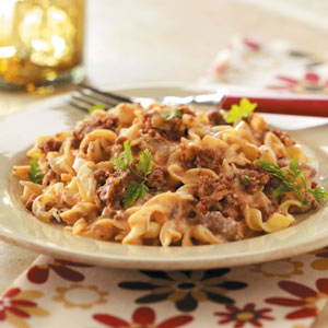 Home-Style Beef Noodle Casserole Recipe