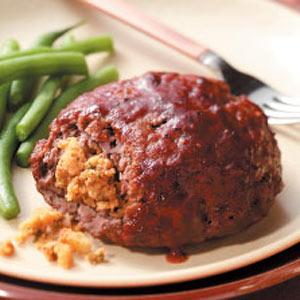 Hearty Stuffed Meat Loaves Recipe