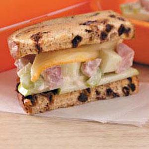 Fruity Ham Sandwiches Recipe