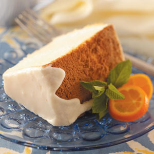 Orange Sponge Cake Recipe