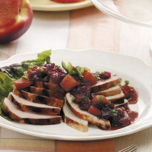 Grilled Chicken with Chutney Recipe
