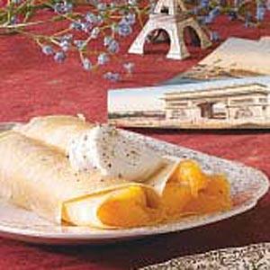 Peach Crepes Recipe