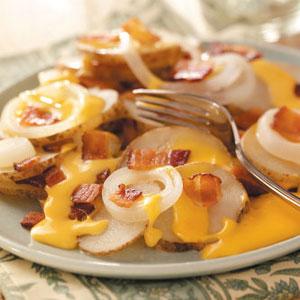 Cheese Potato Packet Recipe