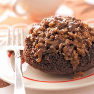 Almond Chocolate Cakes Recipe