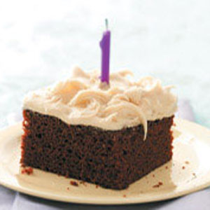 Egg-Free Chocolate Caramel Cake Recipe
