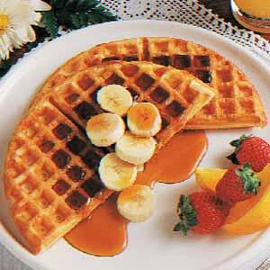 Dutch Cream Waffles Recipe