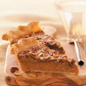 Makeover Sweet Potato Pecan Pie Recipe