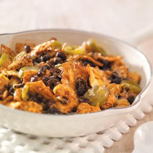 Southwest Tortilla-Turkey Skillet Recipe