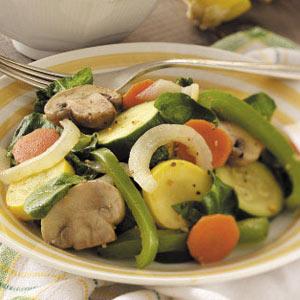 Colorful Veggie Saute Recipe
