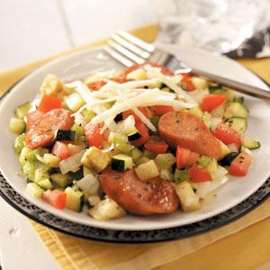 Ratatouille Sausage Saute Recipe