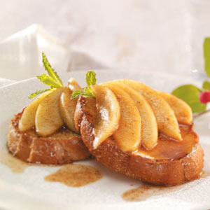 French Toast with Apple Cinnamon Topping Recipe