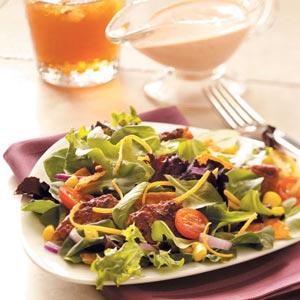 Black Bean Veggie Burger Salad Recipe