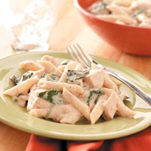 Creamy Spinach Chicken Dinner Recipe