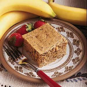 Sugarless Banana Walnut Cake Recipe