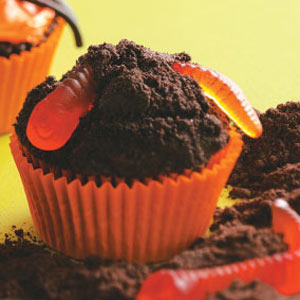 Creepy Crawly Cupcakes Recipe