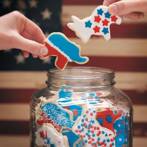 Election Day Cookies Recipe