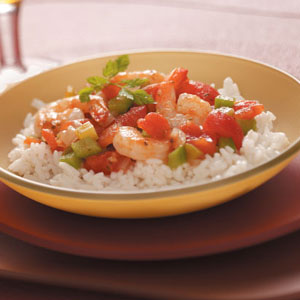 Creole Shrimp & Rice Recipe