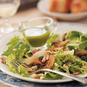 Roasted Onion Salad Recipe
