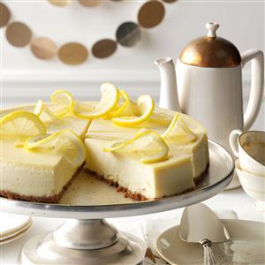 Lovely Lemon Cheesecake Recipe