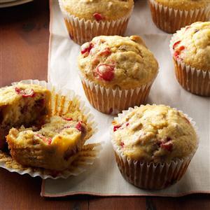 Cranberry Nut Muffins Recipe