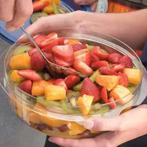 Layered Fruit Salad Recipe