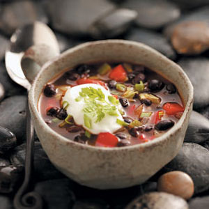 Contest-Winning Black Bean Soup Recipe