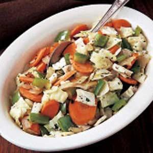 Skillet Vegetable Recipe