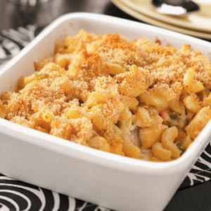 Macaroni Chicken Casserole Recipe