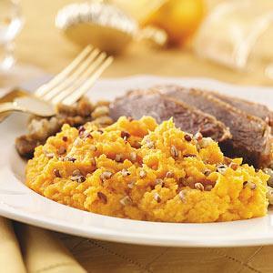 Whipped Orange Sweet Potatoes Recipe