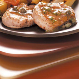 Pork Cutlets with Capers Recipe