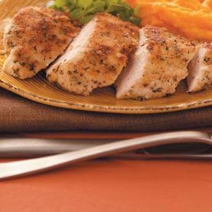 Dijon-Crusted Chicken Breasts Recipe