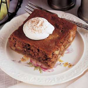 Sour Cream Apple Squares Recipe