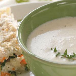 Favorite Cream of Cauliflower Soup Recipe