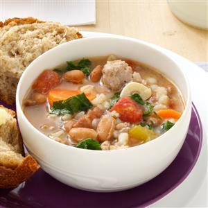 Italian Sausage Bean Soup Recipe