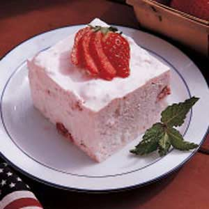 Strawberry angel dessert recipe taste of home strawberry angel dessert recipe forumfinder Image collections