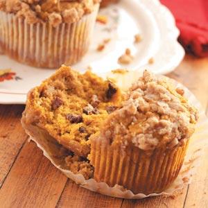 Jumbo Pumpkin Pecan Muffins Recipe