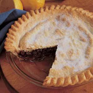 Grandma Meg's Raisin Pie Recipe