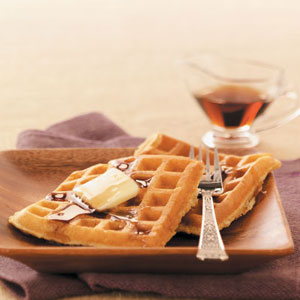 Makeover Multigrain Waffles Recipe