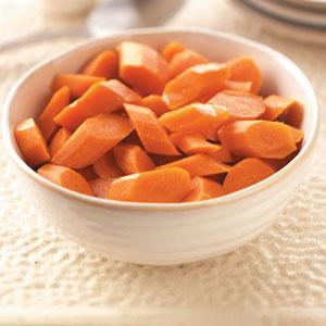 Spiced Glazed Carrots Recipe
